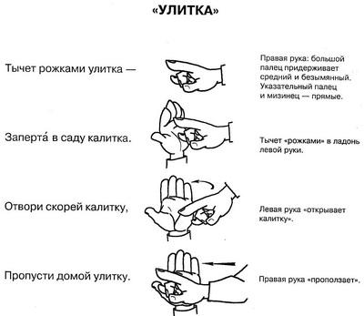 пальчиковая гимнастика 3
