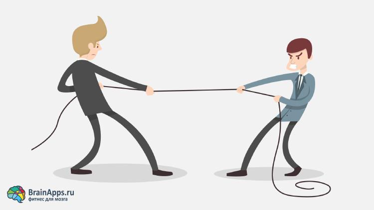 Самоконтроль, трудолюбие и сила воли как эгоистические фикции в уме