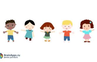 Спектр реакций ребёнка