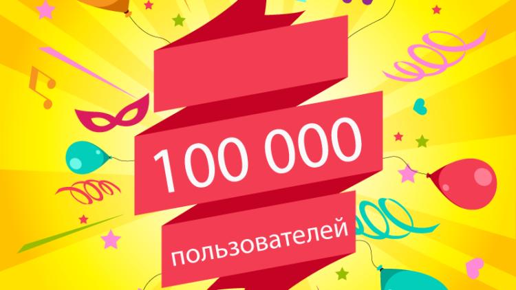 100 000 счастливых пользователей на BrainApps