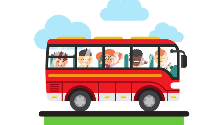 В какую сторону едет автобус (задача)