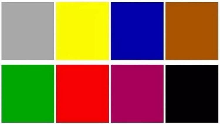 Цветовое тестирование Люшера