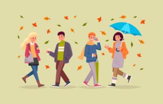 Осень на BrainApps